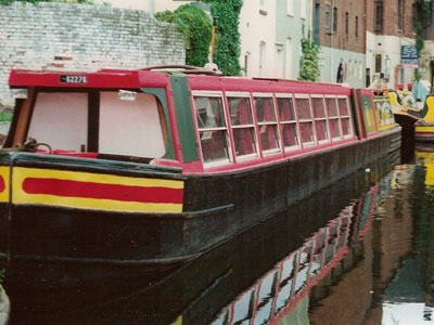 "The canalboat ""Anson"""